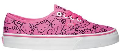 Hello Kitty и Vans презентовали новые модели обуви