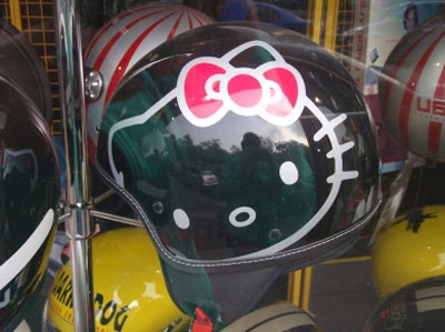Женские мотошлемы с Hello Kitty