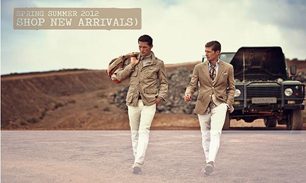 Новая коллекция мужской одежды британского бренда Hackett
