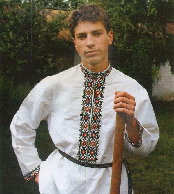 Мужская рубаха русских, украинцев, белорусов