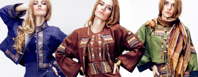 «Дом русской одежды»: Русской Женщине - Русский Стиль!