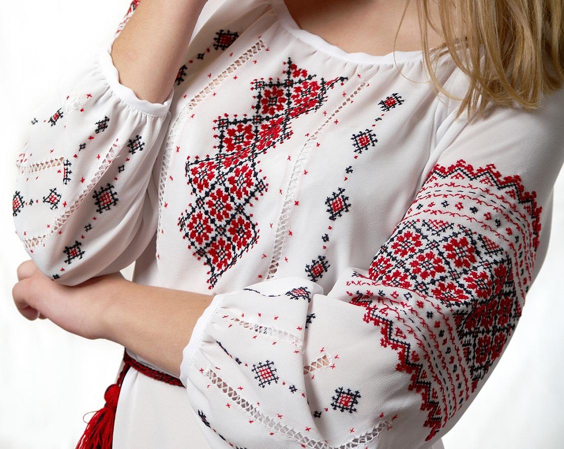 Народная художественная вышивка Украины