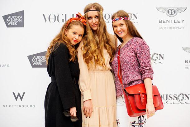 Лица Aurora Fashion Week. Мода в Северной столице