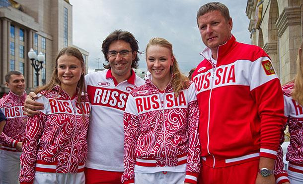 BOSCO презентовала коллекцию одежды для олимпийской сборной России