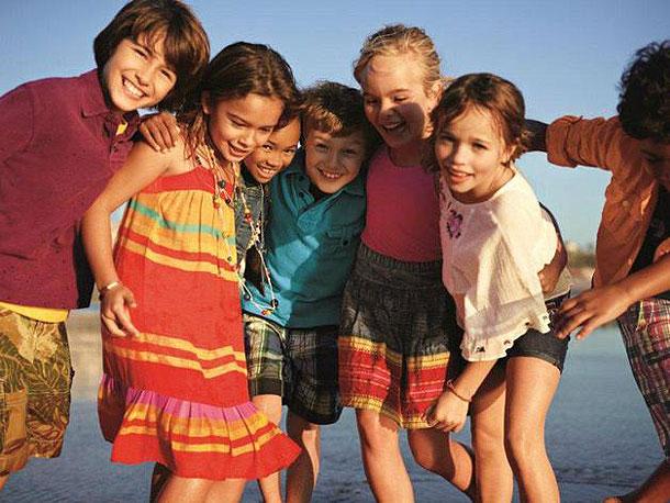 Gap представил детскую летнюю коллекцию Cabana
