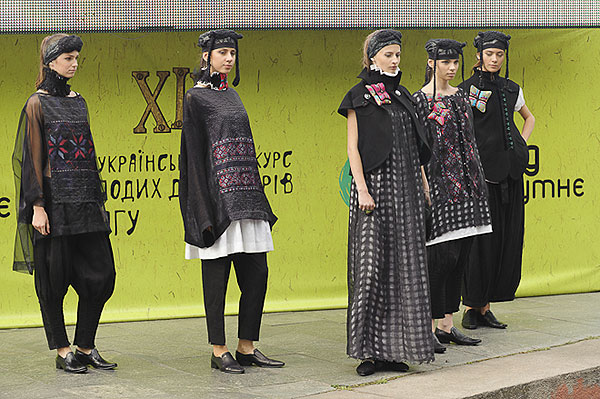 XIII Всеукраинский конкурс молодых дизайнеров одежды «Взгляд в будущее»