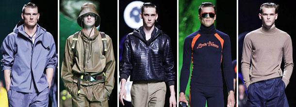Неделя мужской моды в Париже: Louis Vuitton. Весна-лето 2013
