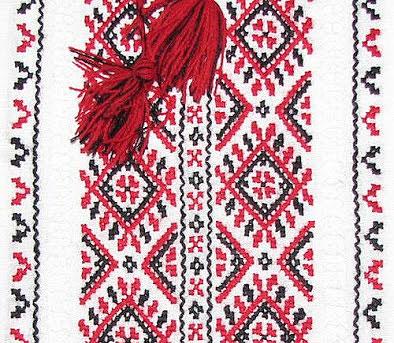 История и основные мотивы украинской вышивки