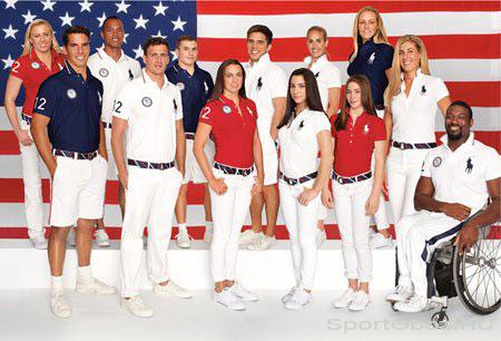 Лондон-2012. Форма сборной США