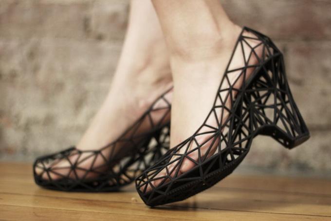 Обувь Strvct: 3D-серия
