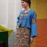 Показ колекции «Дома русской одежды» Валентины Аверьяновой