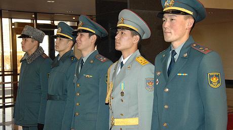 Новая форма одежды армии Казахстана