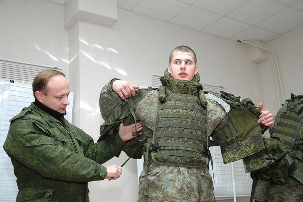 «Ратник». Элементы эпикировки «солдата будущего»