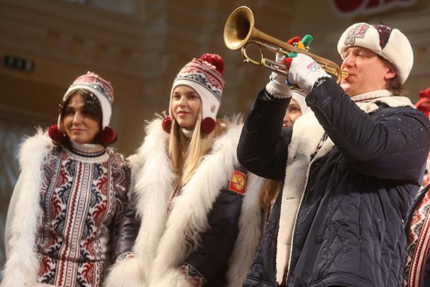BOSCO презентует форму для команды России на Олимпийских играх в Сочи