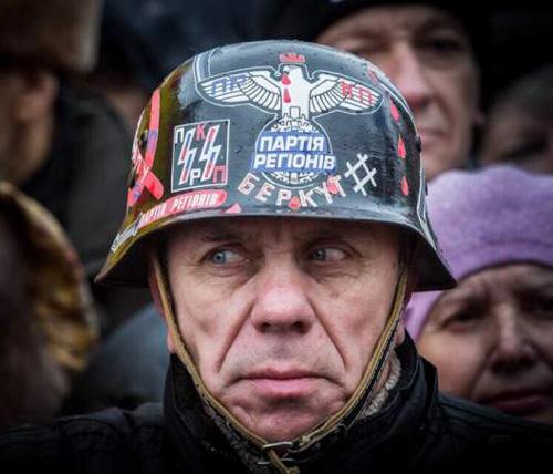 EuroMaidan Fashion 2014. Kyiv, Ukraine