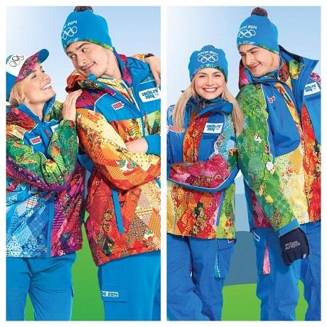 В Сочи показали форму для олимпийских волонтеров