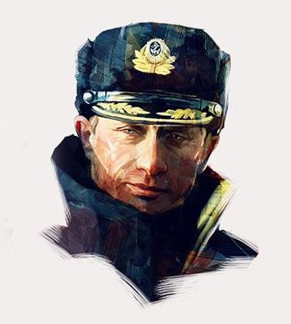 В ГУМе тартовали продажи модных футболок с изображением Владимира Путина