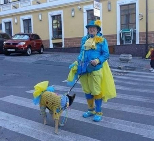 EuroMaidan Fashion II. Псевдопатриотический регресс в желто-синих тонах
