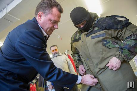 На Урале разработали форму для ополченцев Новороссии