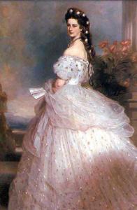 Австрийская Императрица Элизабет в платье от Ворта