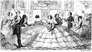 Платье с кренолином
